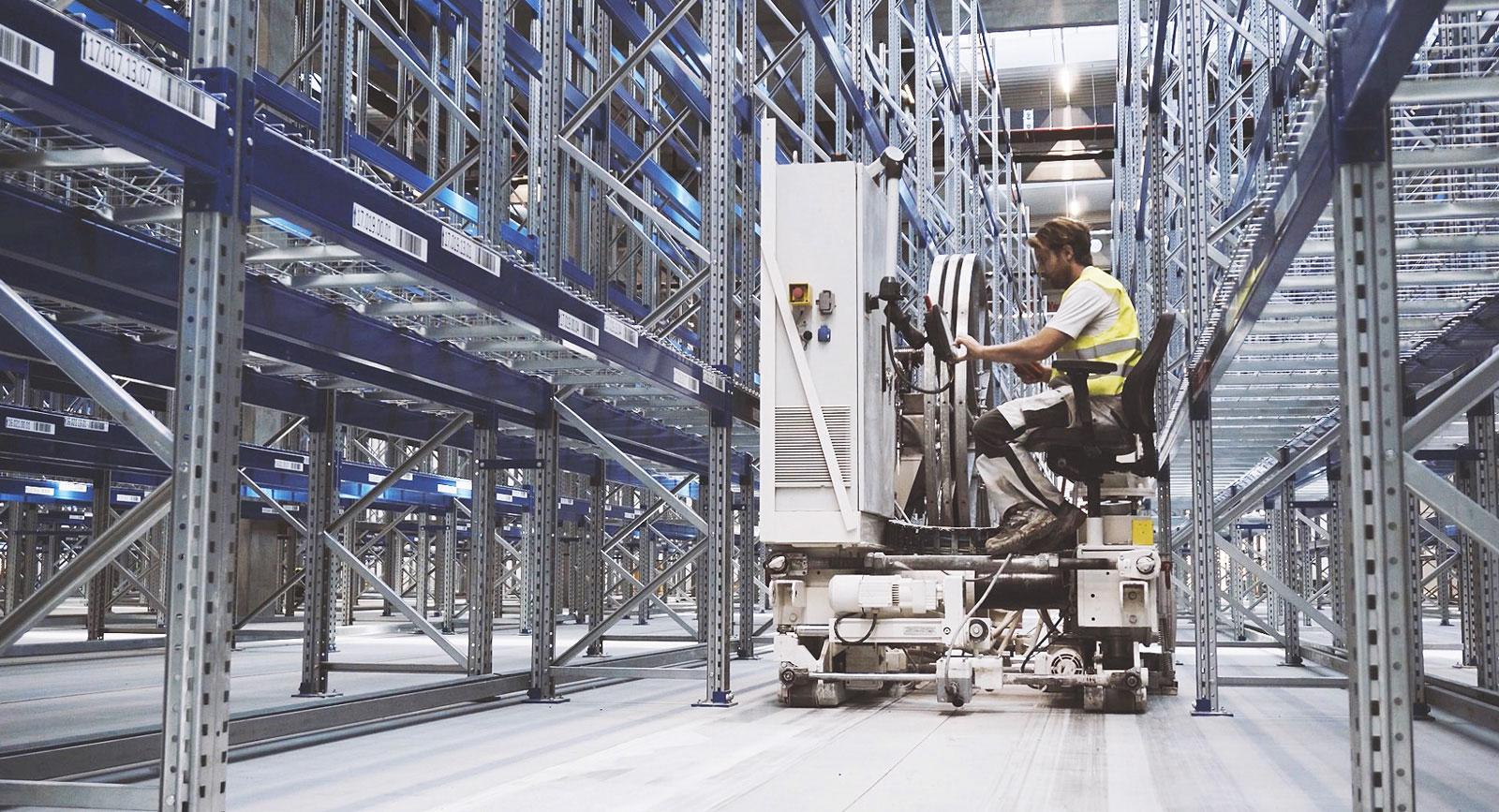 Alphaplan® - Ultraplana Truckgångar VNA för ditt lager 2